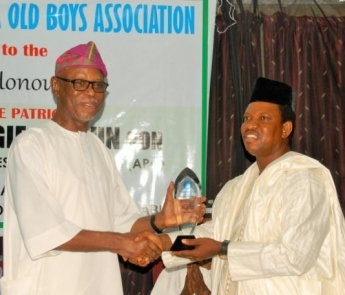 Chief John Odigie-Oyegun, National Chairman of the All Progressives Congress (APC) and SPC Alumni Honoured