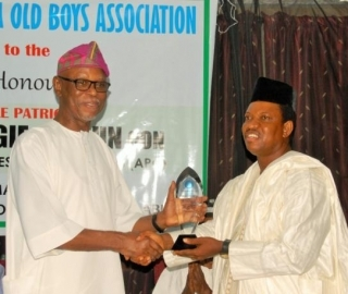 Chief John Odigie-Oyegun, National Chairman of the All Progressives Congress (APC) and SPC Alumni Honoured